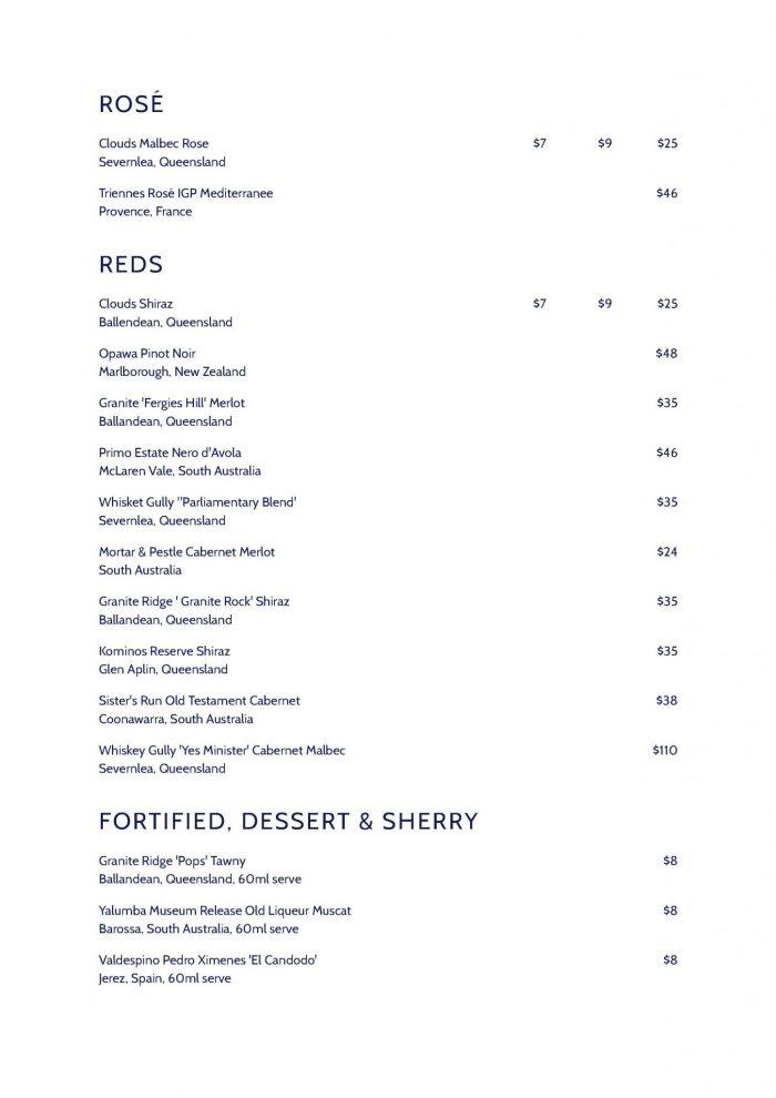 CM-rose menu