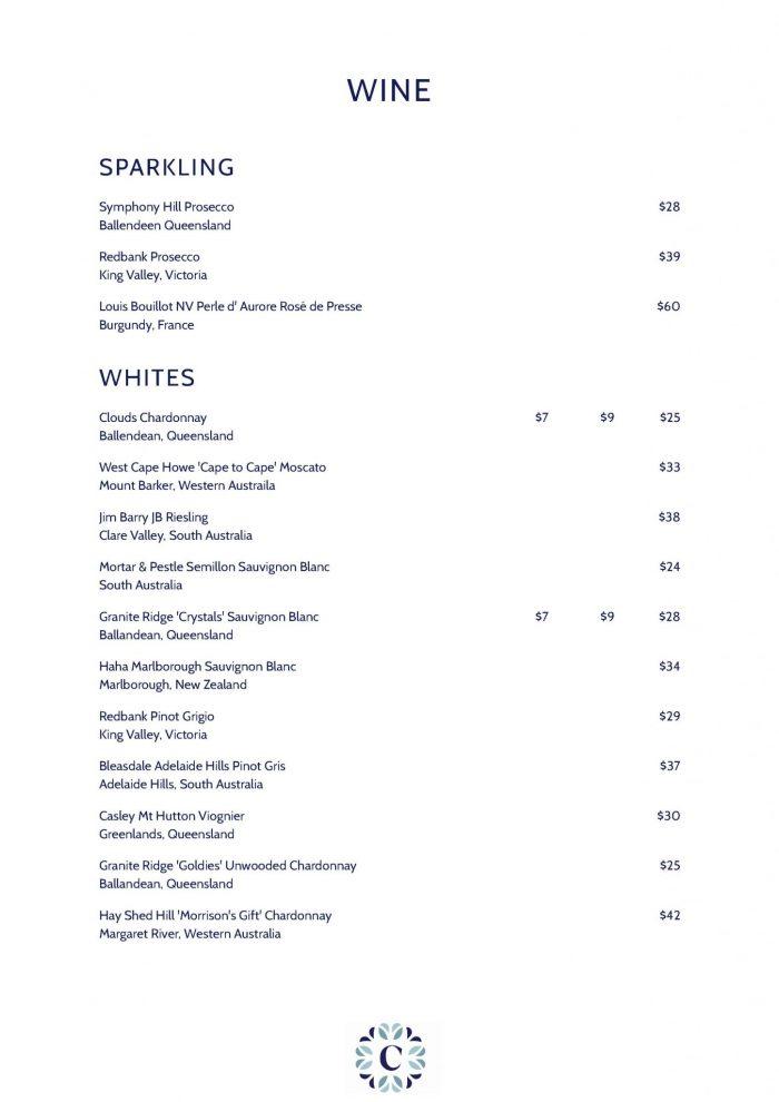 CM-wine menu
